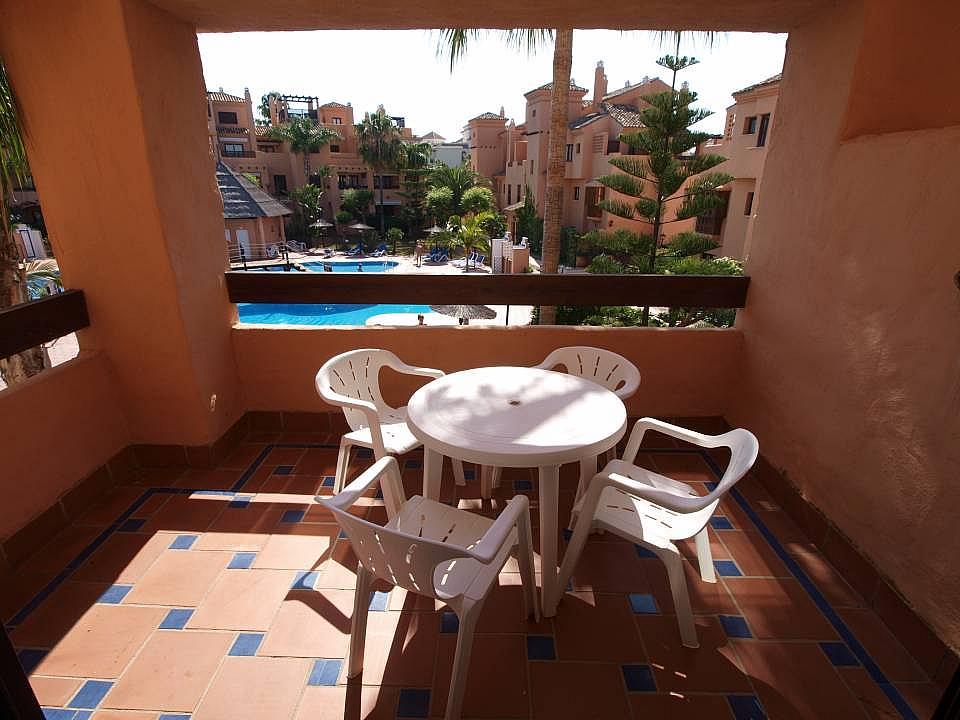 Terraza - Apartamento en alquiler en Estepona - 277703989