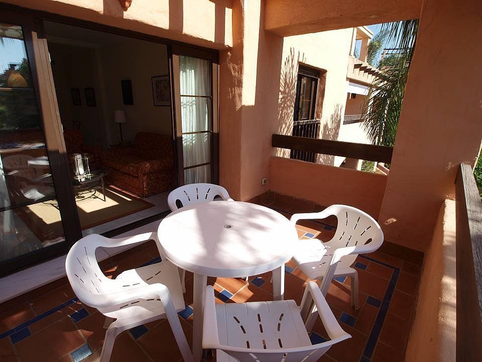 Terraza - Apartamento en alquiler en Estepona - 277703995