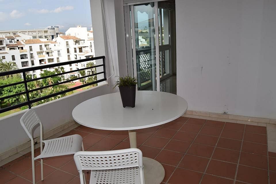Terraza - Apartamento en alquiler en Marbella - 277705222
