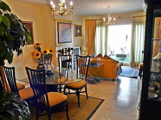 Salon - Dúplex en alquiler en Nagüeles Alto en Marbella - 277707859