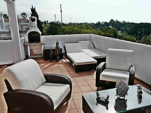 Terraza - Dúplex en alquiler en Nagüeles Alto en Marbella - 277707877