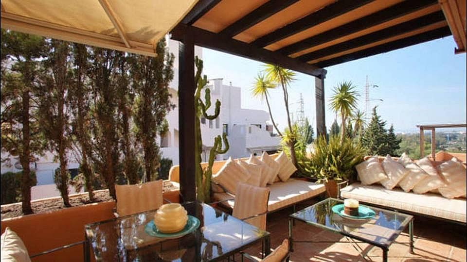Terraza - Dúplex en alquiler en Marbella - 277708162