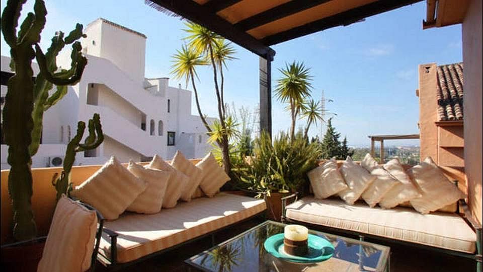 Terraza - Dúplex en alquiler en Marbella - 277708165