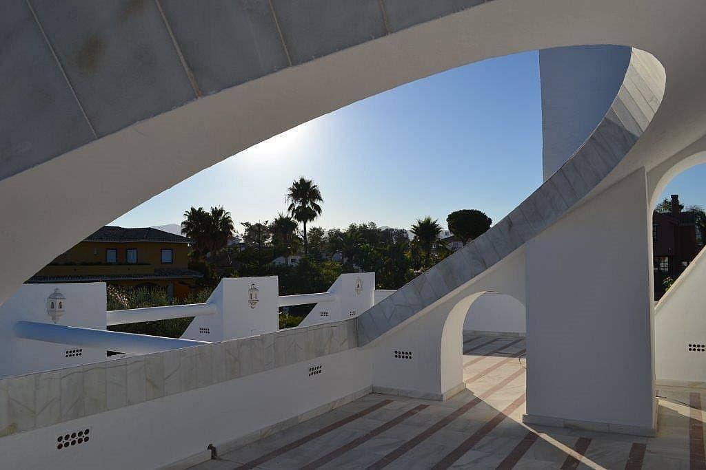 Terraza - Chalet en alquiler en Marbella - 277708543
