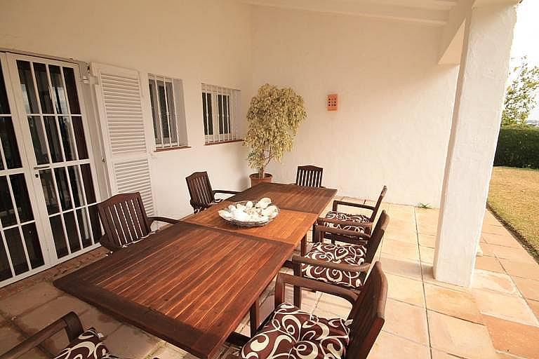 Terraza - Casa en alquiler en Marbella - 277709104