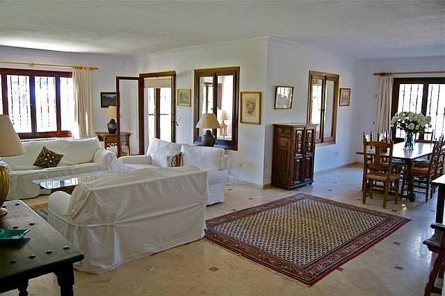 Salon - Casa en alquiler en Marbella - 277709113