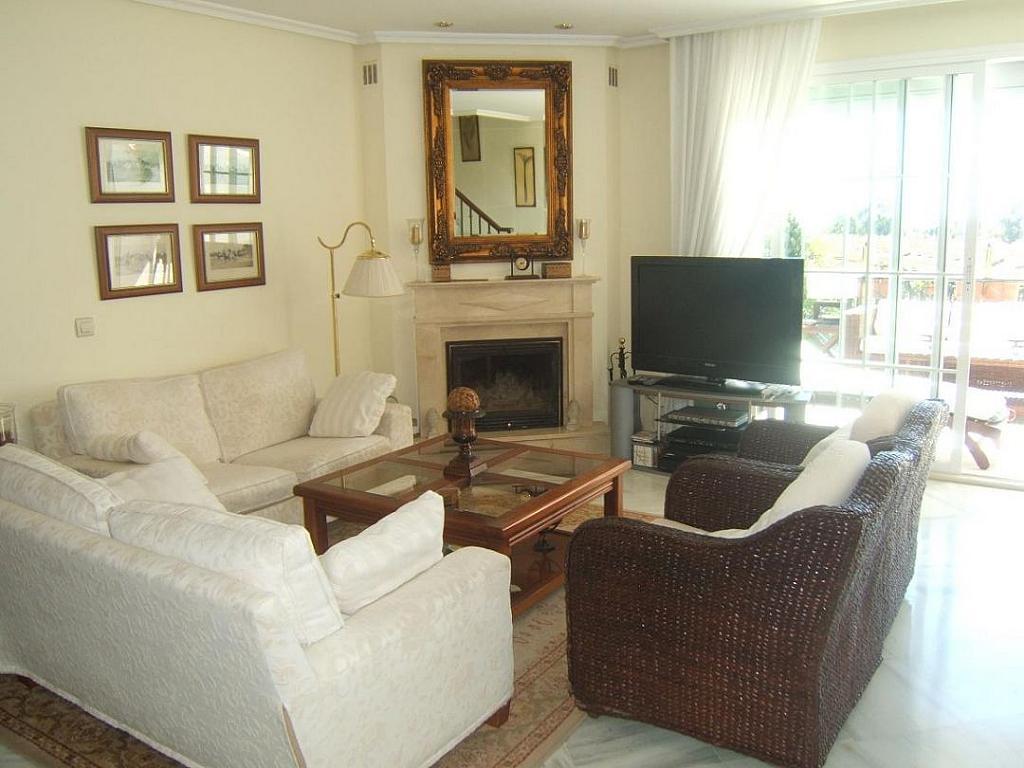 Salon - Casa adosada en alquiler en Milla de Oro en Marbella - 277710220