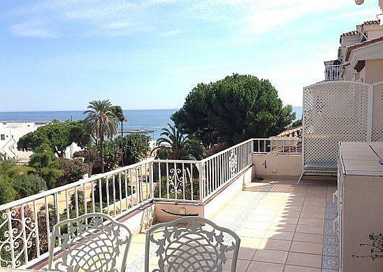 Terraza - Apartamento en alquiler en Marbella - 277710367
