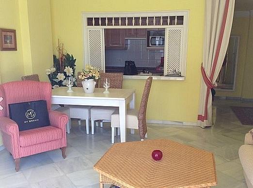 Salon - Apartamento en alquiler en Marbella - 277710382