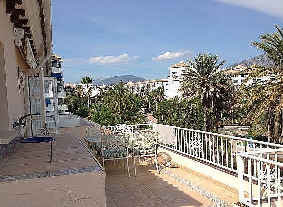 Terraza - Apartamento en alquiler en Marbella - 277710394
