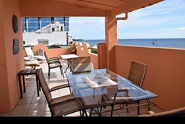 Terraza - Apartamento en alquiler en Marbella - 277710949