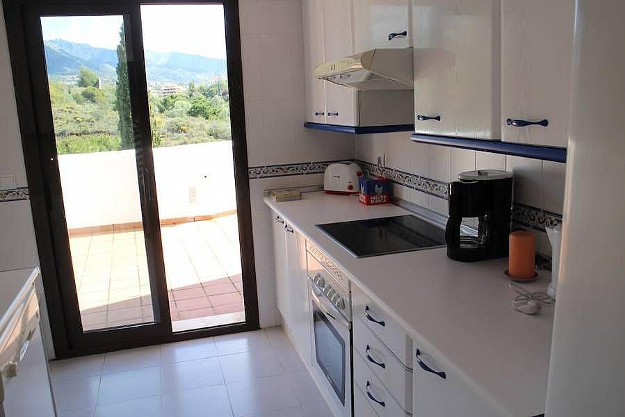 Cocina - Apartamento en alquiler en Milla de Oro en Marbella - 277711108