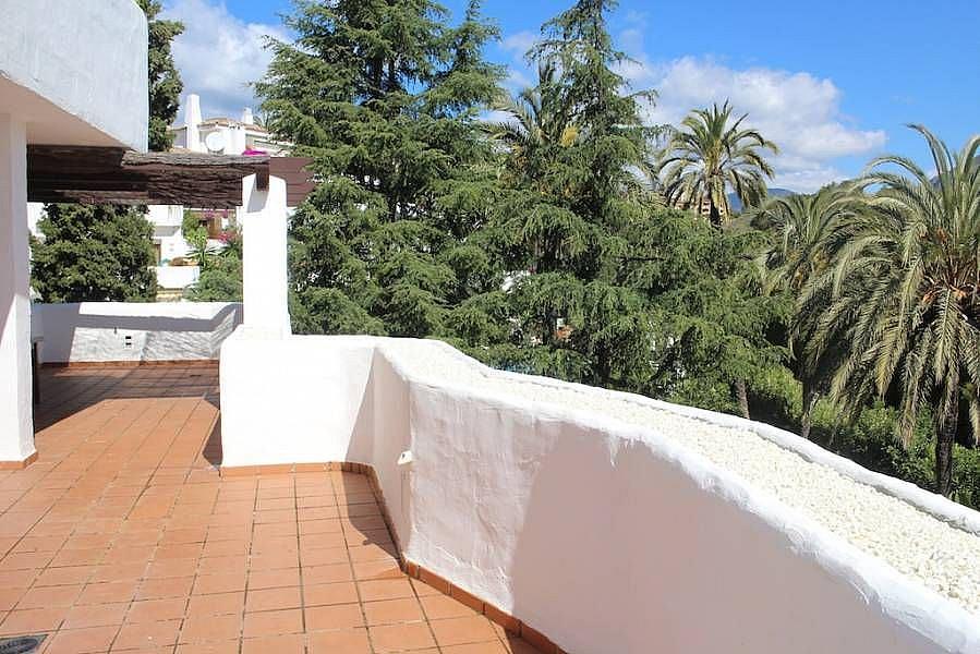 Terraza - Apartamento en alquiler en Milla de Oro en Marbella - 277711126