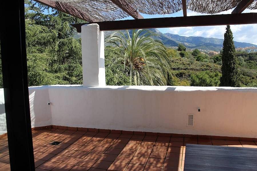 Terraza - Apartamento en alquiler en Milla de Oro en Marbella - 277711129