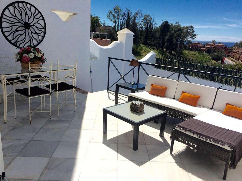 Terraza - Casa adosada en alquiler en Marbella - 277712692