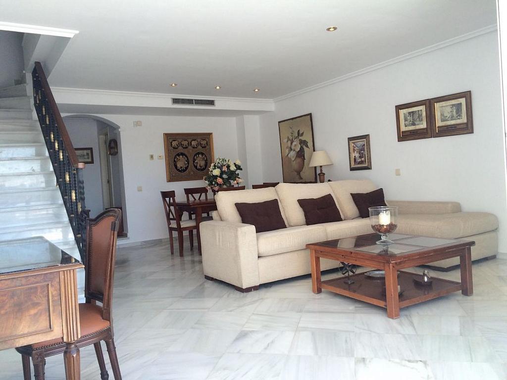 Salon - Casa adosada en alquiler en Marbella - 277712713