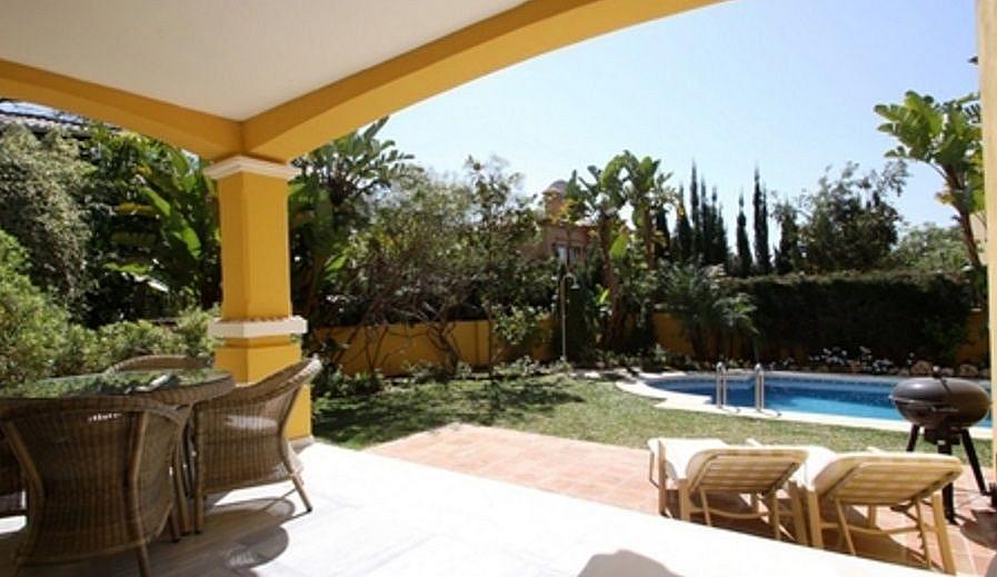 Terraza - Chalet en alquiler en Marbella - 277712935