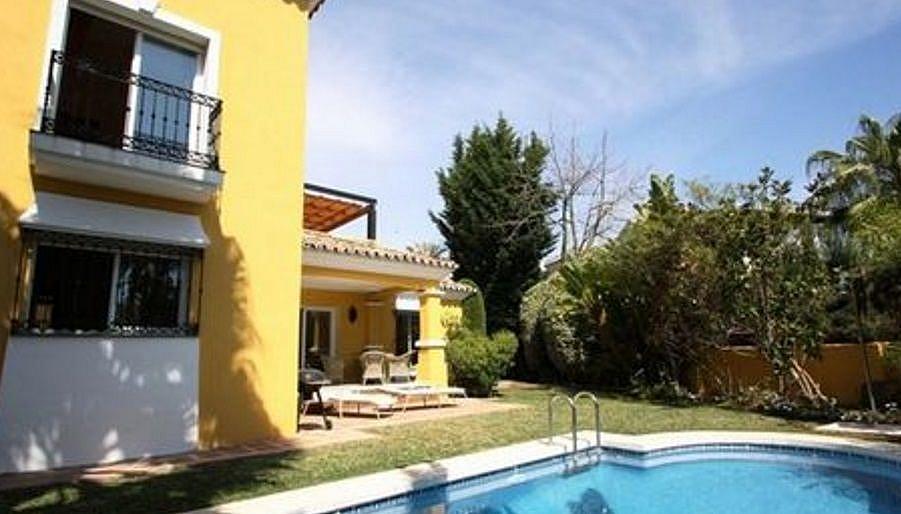 Piscina - Chalet en alquiler en Marbella - 277712944