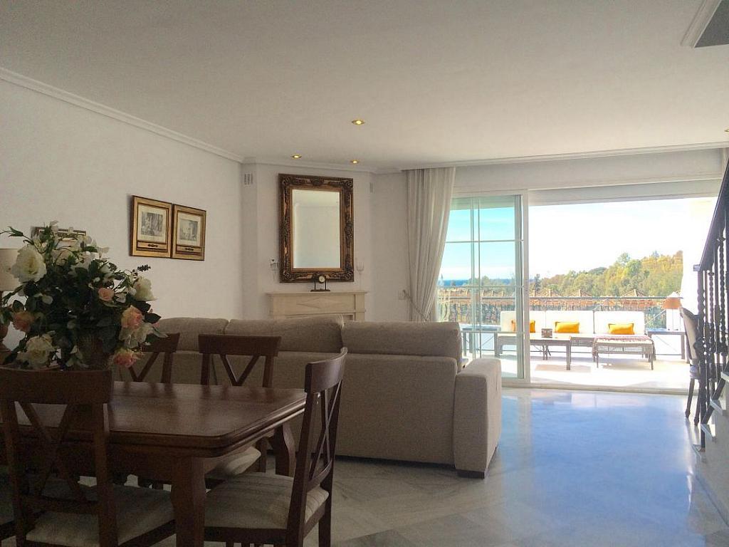 Salon - Apartamento en alquiler en Marbella - 277713211