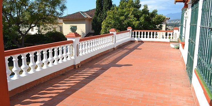 Terraza - Chalet en alquiler en San Pedro Pueblo en Marbella - 277713508