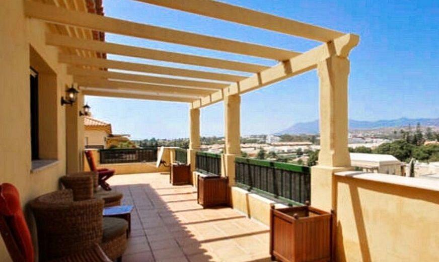 Terraza - Apartamento en alquiler en Marbella - 277713556