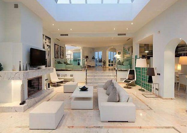 Salon - Chalet en alquiler en Marbella - 277714348