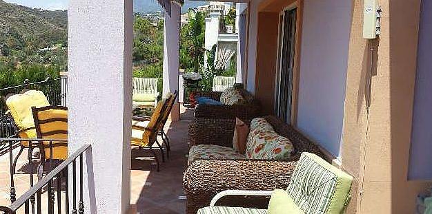 Terraza - Chalet en alquiler en Marbella - 277714396