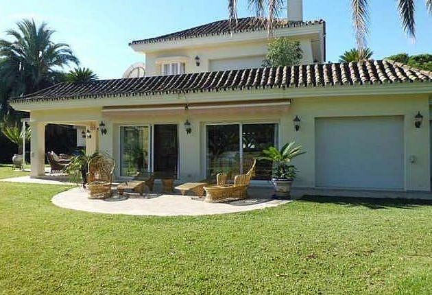 Exterior - Chalet en alquiler en Nueva Andalucía en Marbella - 277714531