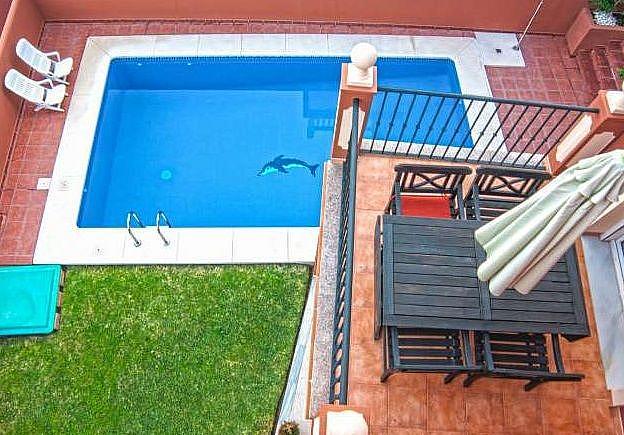 Piscina - Chalet en alquiler en Marbella - 277714558