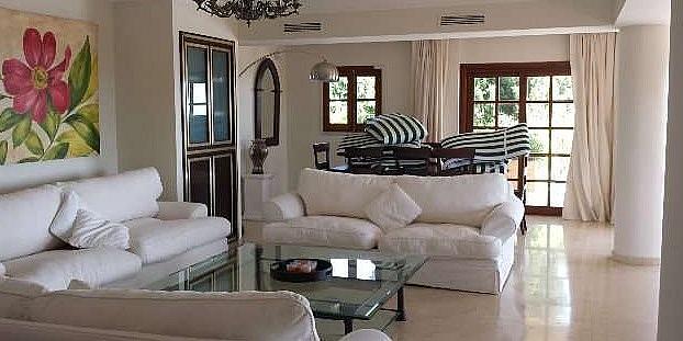 Salon - Chalet en alquiler en Marbella - 277714651