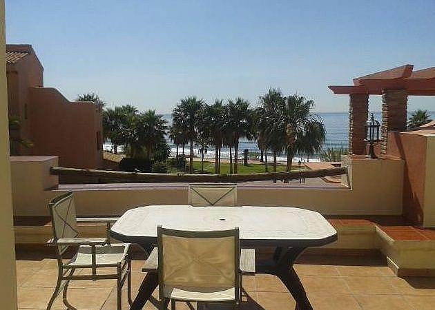 Terraza - Apartamento en alquiler en Estepona - 277715413