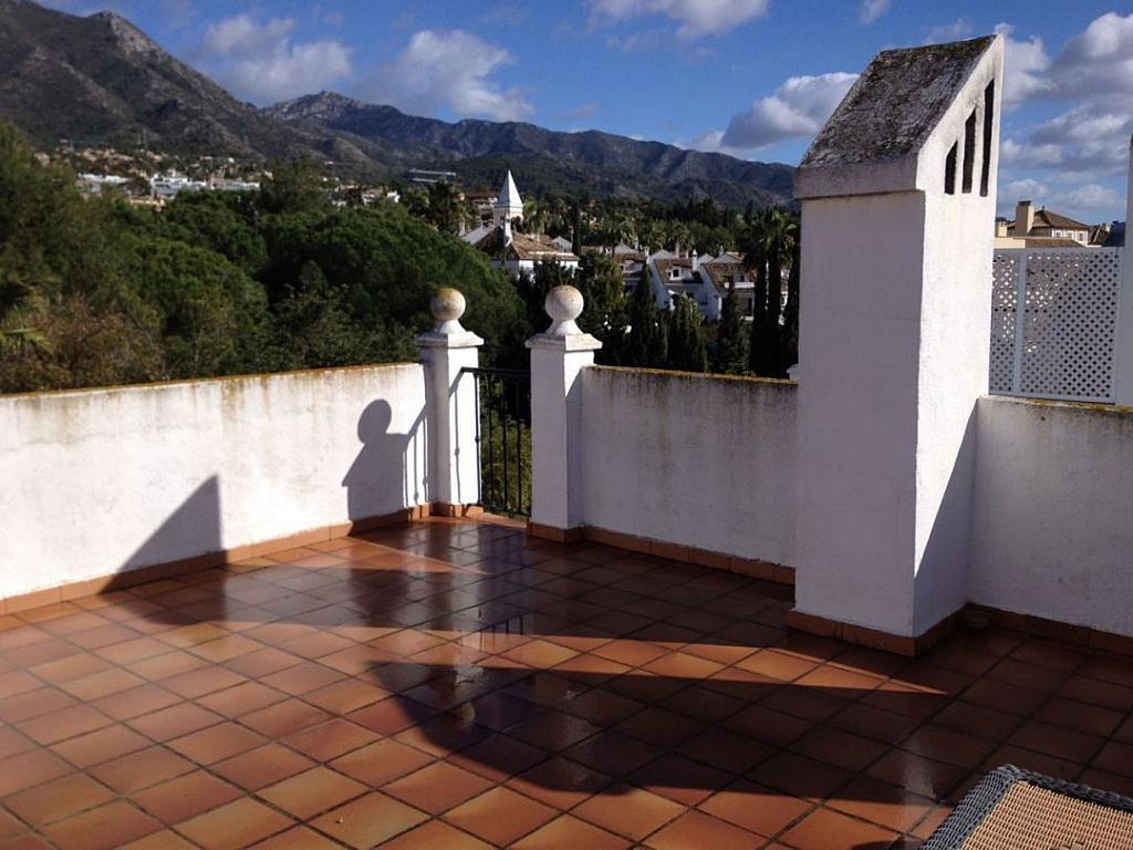 Terraza - Apartamento en alquiler en Marbella - 279808053