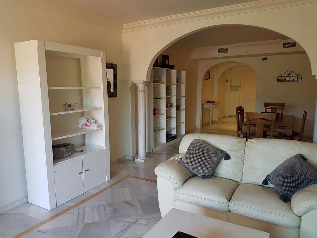 Salon - Apartamento en alquiler en Marbella - 283238578
