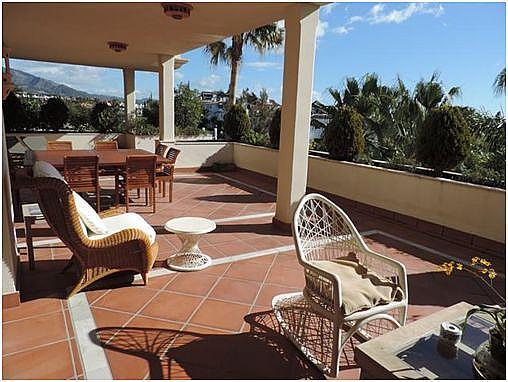 Terraza - Apartamento en alquiler en Marbella - 283238620
