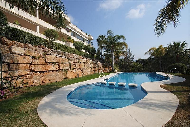 Piscina - Apartamento en alquiler en Marbella - 283238632