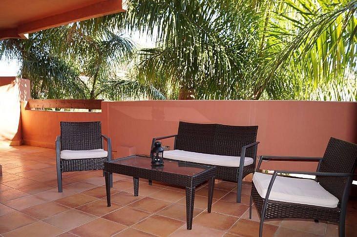 Terraza - Apartamento en alquiler en Marbella - 291218337