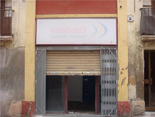 Local comercial en alquiler en calle Hospital, Manresa - 378305087