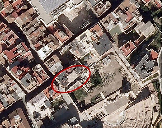 Ático en alquiler en calle Cuesta de la Baronesa, Casco en Cartagena - 280699939