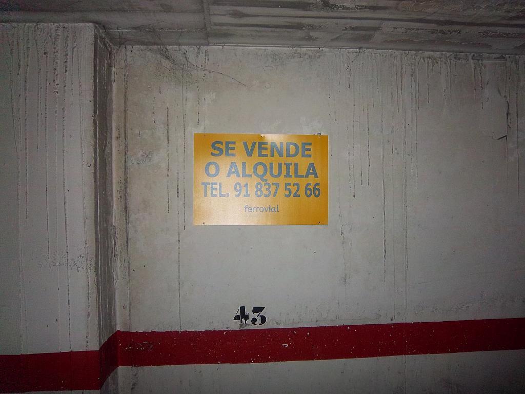 Garaje en alquiler en calle Senija, Pla del Bon Repos en Alicante/Alacant - 283568007