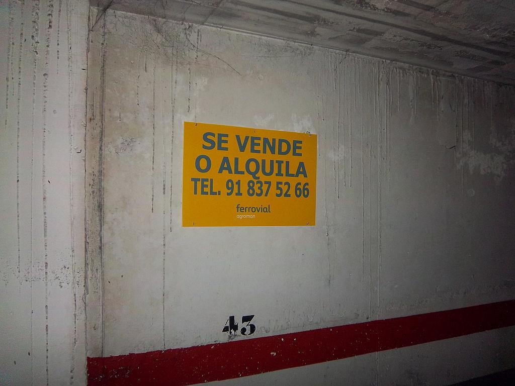 Garaje en alquiler en calle Senija, Pla del Bon Repos en Alicante/Alacant - 283568012
