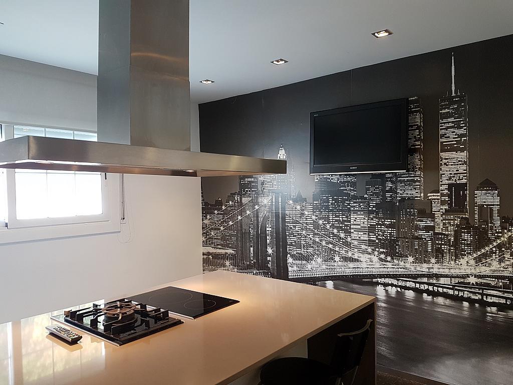 Cocina - Casa adosada en alquiler en pasaje Esparragueres, Cabrils - 327647424