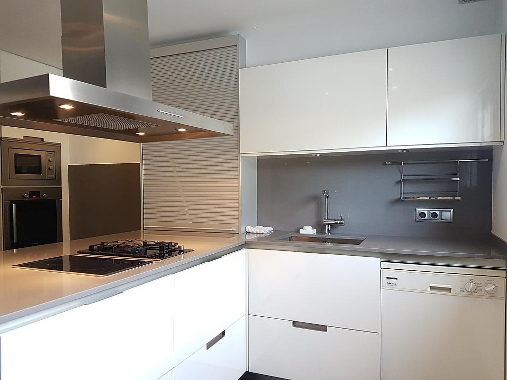 Cocina - Casa adosada en alquiler en pasaje Esparragueres, Cabrils - 327647433