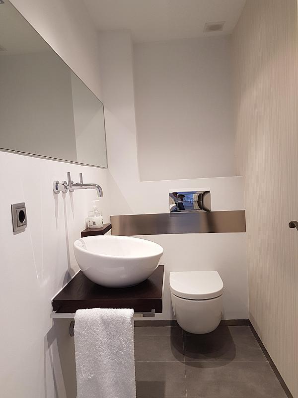 Baño - Casa adosada en alquiler en pasaje Esparragueres, Cabrils - 327647450