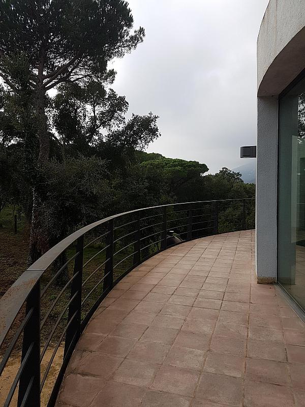 Terraza - Casa en alquiler en calle Andalusia, Sant Cebrià de Vallalta - 339113851