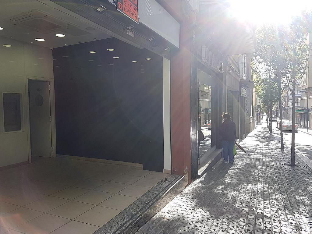 Fachada - Local en alquiler en calle Baixada Santa Ana, Centre en Mataró - 331620902