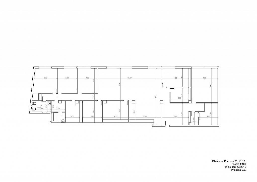 Oficina en alquiler en calle Princesa, Argüelles en Madrid - 358643914