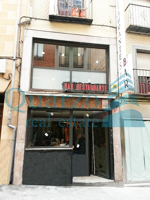 Restaurante en alquiler en calle San Francisco, Zona Centro-Barrio Amurallado en Segovia - 386156203