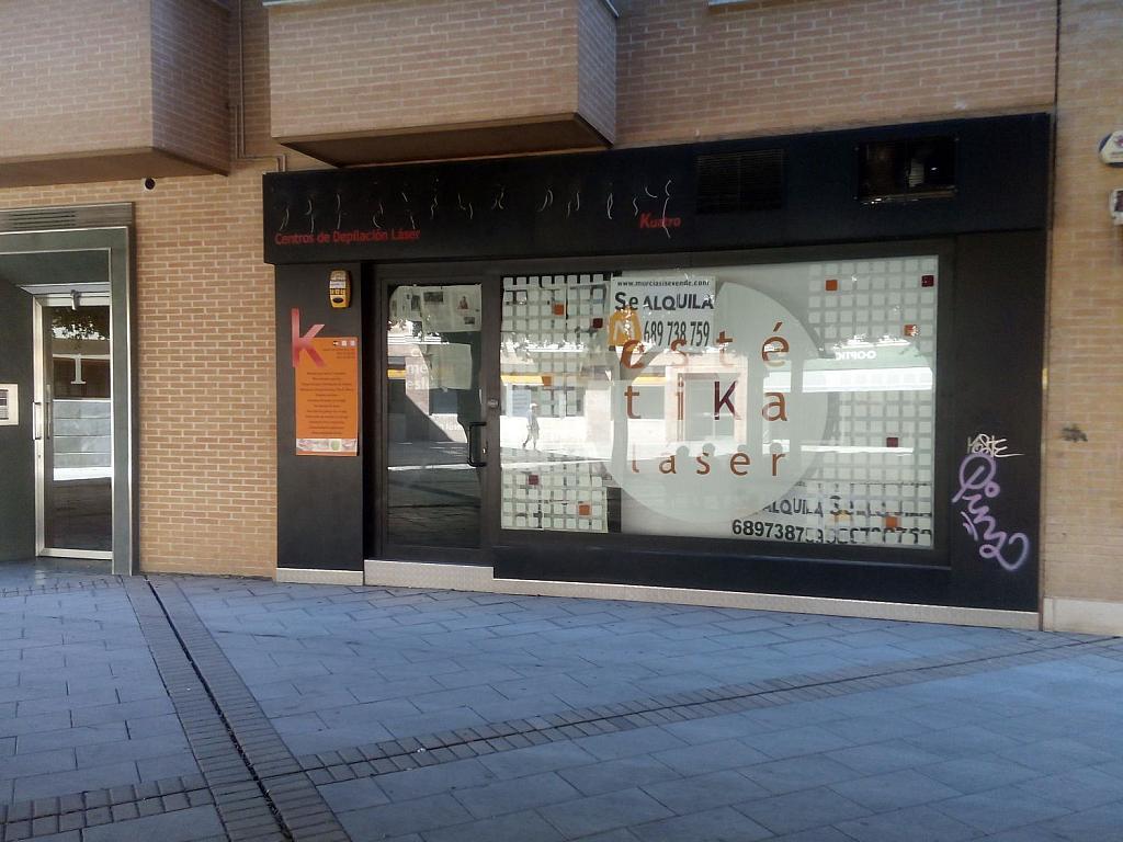 Local comercial en alquiler en paseo Fotógrafo Verdú, El Carmen en Murcia - 296216220