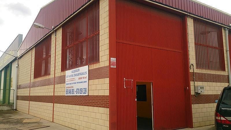 Fachada - Nave industrial en alquiler en Logroño - 306051331