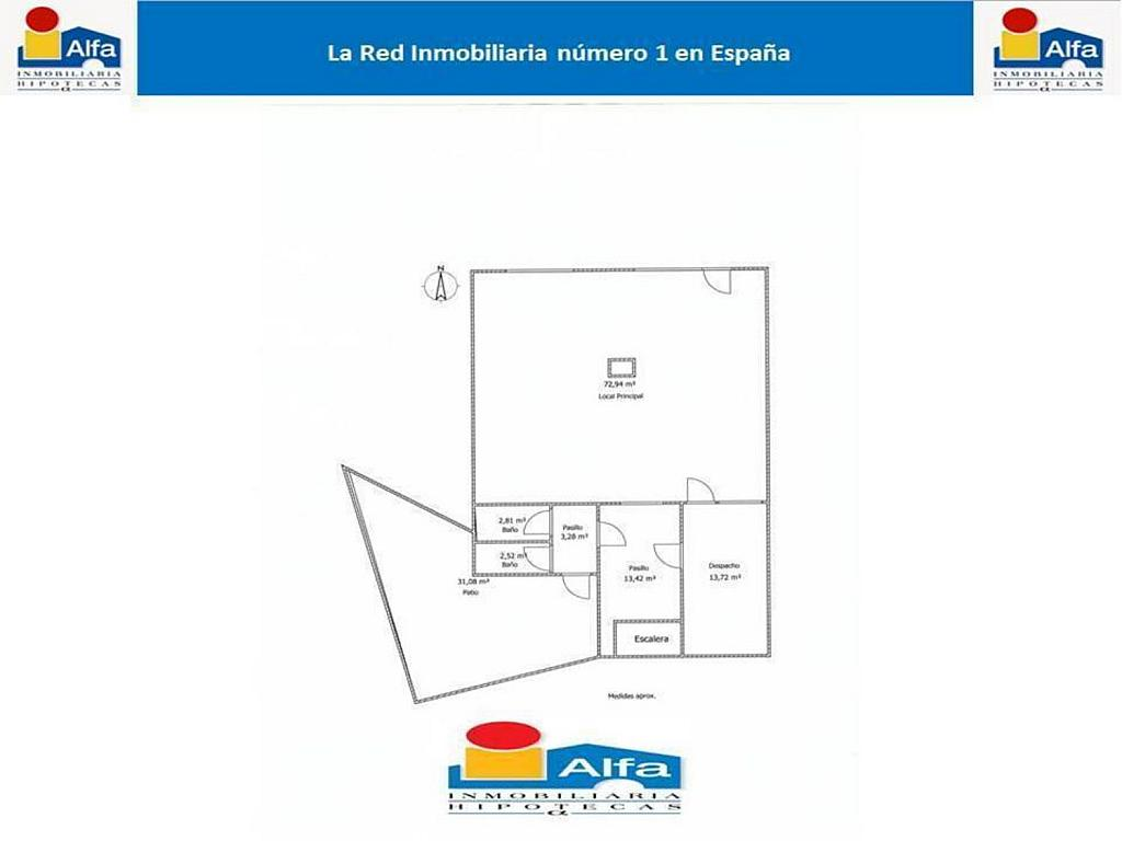 Local en alquiler en calle Fray Toribio de Motolinia, Zamora - 302257324